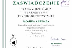 Psychodietetyka - dietetyk dziecięcy Monika Zaremba